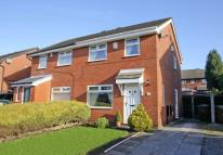 semi detached property in Hawkshaw Close, Aspull...
