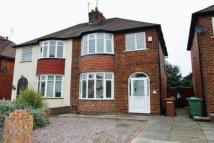3 bed semi detached property in Worcester Road...