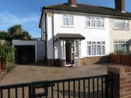 semi detached house in Manor Drive North...