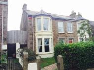 semi detached property in Park Road, Redruth...
