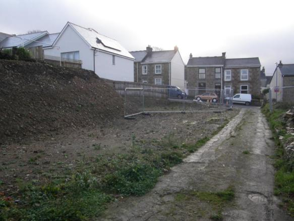 Site looking South
