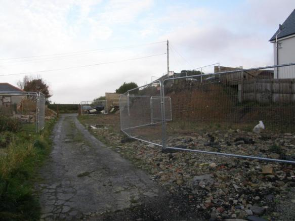 Site looking North