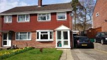 3 bed semi detached property in Cowdray Close, Lordswood...