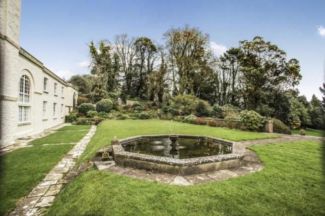 Fountain in Grounds