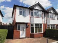3 bedroom semi detached property in Knutsford Road...