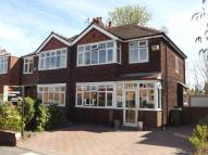 semi detached home for sale in Shirley Drive...