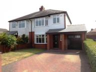 3 bedroom semi detached property for sale in Cross Lane, Grappenhall...