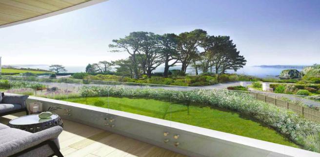 Balcony View CGI