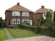 3 bed semi detached property in Ruddington Lane, Wilford...