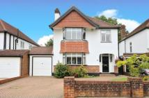 Detached house in Copse Avenue...