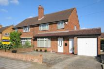 semi detached house for sale in Chamberlain Crescent...
