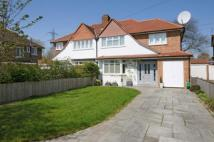 semi detached home for sale in Worcester Park