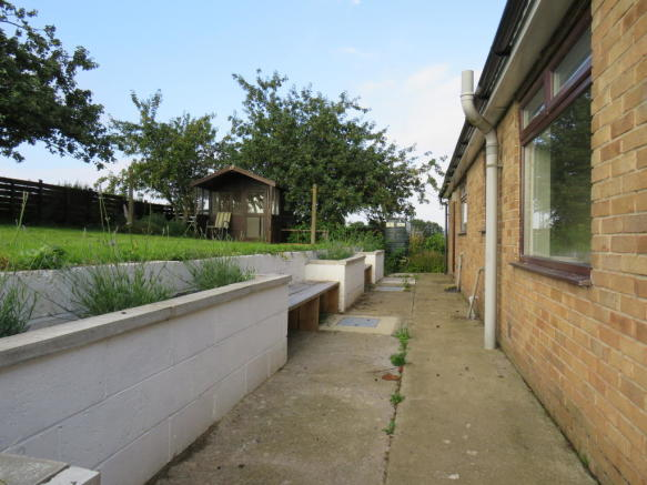 Rear Garden/Patio area