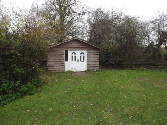Garden and shed