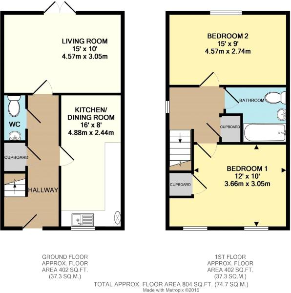 2 Bedroom Home