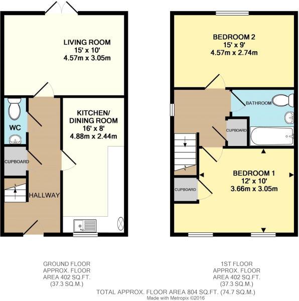2 Bedroom Home