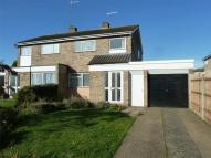 semi detached house in Russell Drive, Ampthill...
