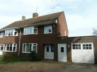 3 bed semi detached house to rent in Claridges Lane, Ampthill...