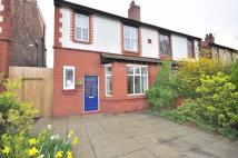 semi detached house for sale in Atwood Road, Didsbury...