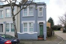 Terraced home for sale in TENNYSON ROAD, WIMBLEDON