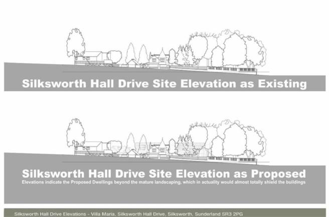 SITE ELEVATION SILKS