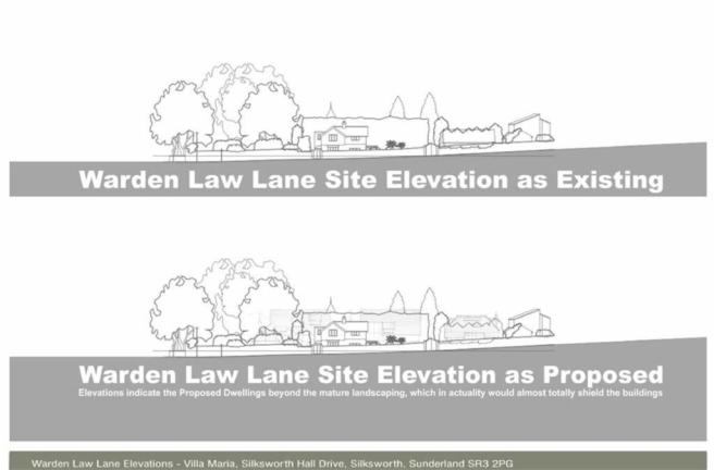 SITE ELEVATION WARDE