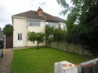 semi detached house in Sion Hill, Kidderminster...