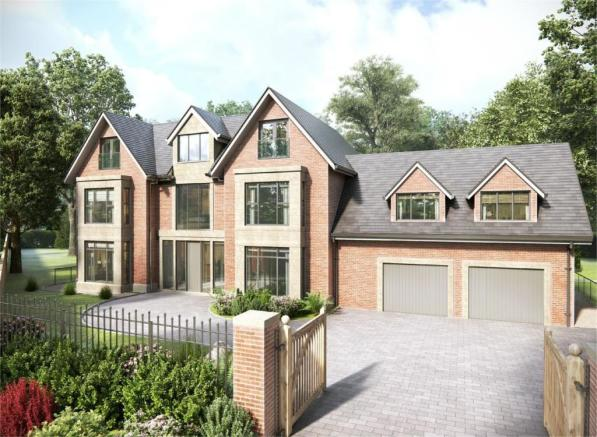 6 bedroom detached house for sale in old hall lane for Homes to build on acreage