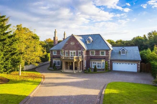 7 bedroom detached house for sale in knowsley grange for Modern house uk for sale