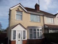 3 bedroom semi detached property to rent in Wynn Road, Wolverhampton