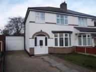 Hanbury Crescent semi detached house to rent