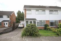 semi detached home for sale in Lon Y Ffin, St Fagans...