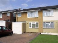 3 bed semi detached home in Glebe Close, Rayleigh...