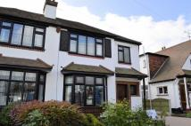 semi detached house in Hamilton Close...