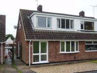 3 bedroom semi detached home in Huntley Close, Mansfield...