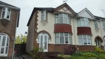 3 bedroom End of Terrace home to rent in Crossway Road, Finham...