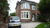 3 bedroom semi detached home in Abbey Road, Whitley...