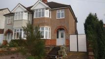 Browns Lane semi detached property to rent