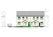 3 bed new house in Plot 2, Peartree Mews...