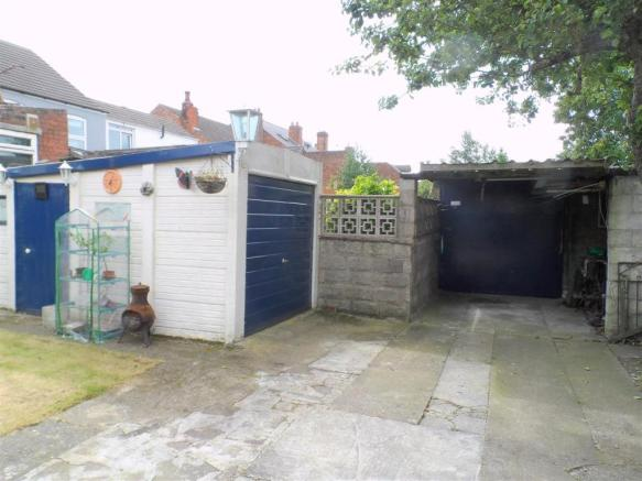 TWO LARGE GARAGES/WO