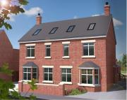 4 bed new property for sale in High Street, Harrold...