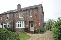 3 bed semi detached home in Knutsford Road...