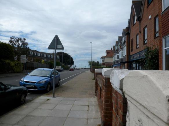 Close to seafront