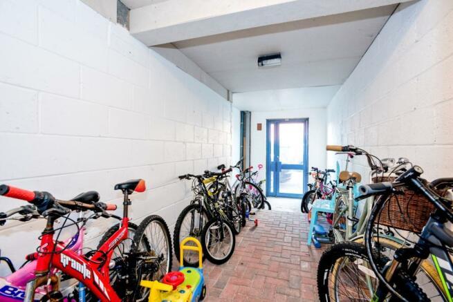 communal bike store