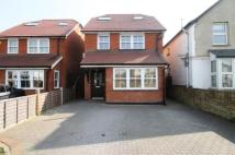 Detached house in Station Crescent...