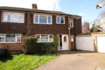 3 bedroom semi detached property in Yeoveney Close...