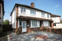 semi detached house for sale in Prairie Road, Addlestone...