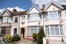 Terraced house in Park Avenue, Mitcham...