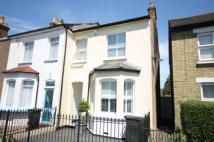 Cresswell Road semi detached house for sale