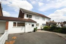 semi detached house for sale in Hadrian Way, Stanwell...